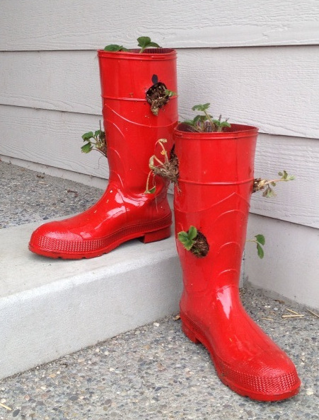 red-boots-as-planter